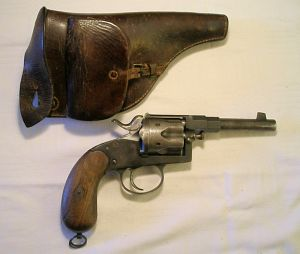 Click to enlarge An 11mm. Reich revolver Erfurt 1890 with matching numbers