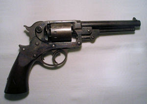 Click to enlarge A good .44 double action Starr percussion revolver