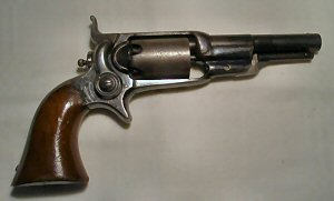Click to enlarge a .31 Colt Root revolver