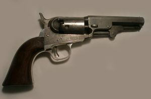 Click to enlarge A .31 four inch Colt Pocket percussion revolver Serial No. 137604