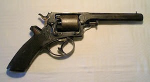 Click to enlarge A Model 1883 10.6mm obsolete calibre German Reich revolver