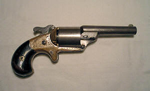 Click to enlarge A .31 Moore�s teat fire revolver