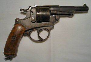 Click to enlarge A French Model 1873 11mm. obsolete calibre centre fire revolver