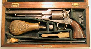 Click to enlarge A .44 cased Remington Army percussion revolver