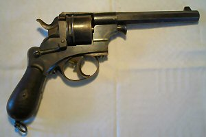 Click to enlarge A very good Model 1873 Dutch 9.4mm six shot obsolete calibre military revolver